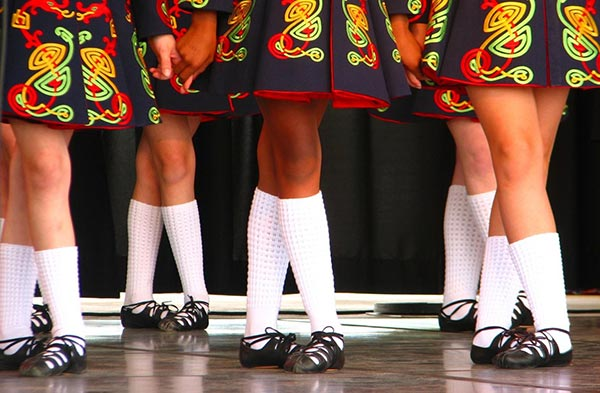 Irish Dancers White Socks