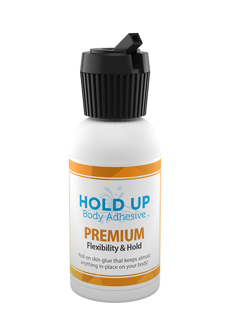 Hold Up Body Adhesive Extreme bottle with turret cap